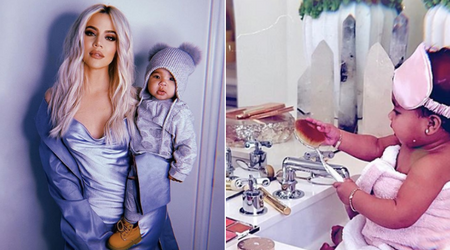 Khloe Kardashian posts snaps of daughter True Thompson acing the makeup game