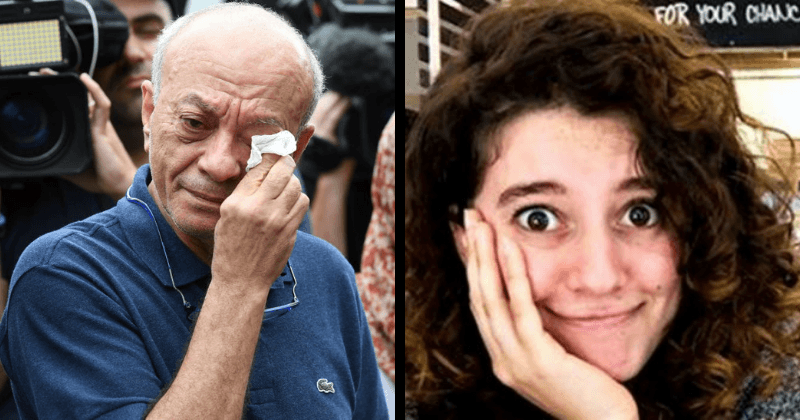 Father Of Murdered 21 Yr Old Israeli Student Breaks Down