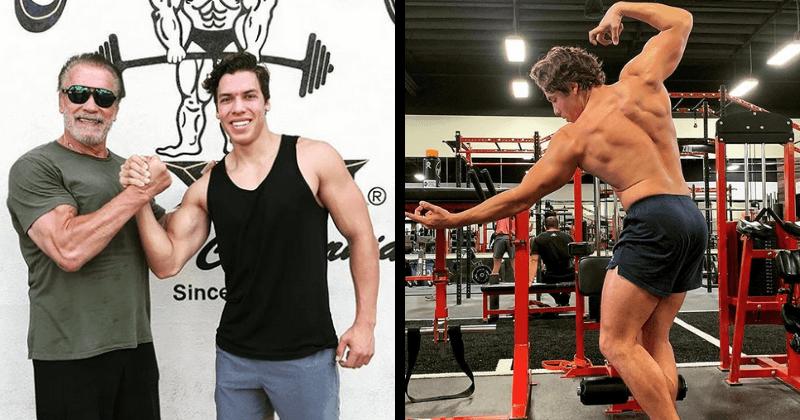 "Arnold Schwarzenegger ""happy and proud"" son Joseph is ..."
