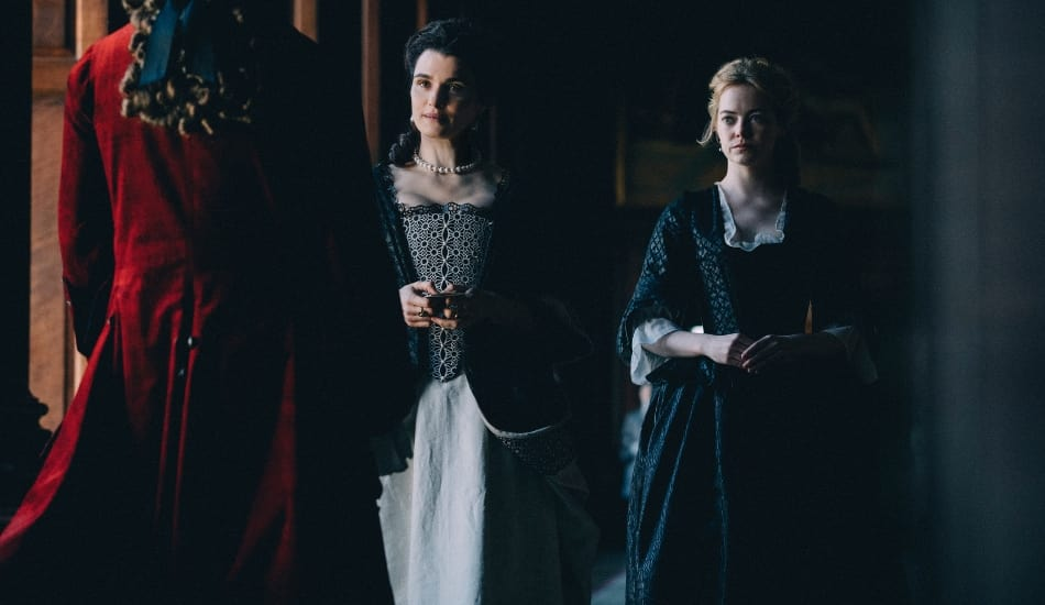 Rachel Weisz and Emma Stone have both been nominated for their respective roles in 'The Favourite' (Atsushi Nishijima)