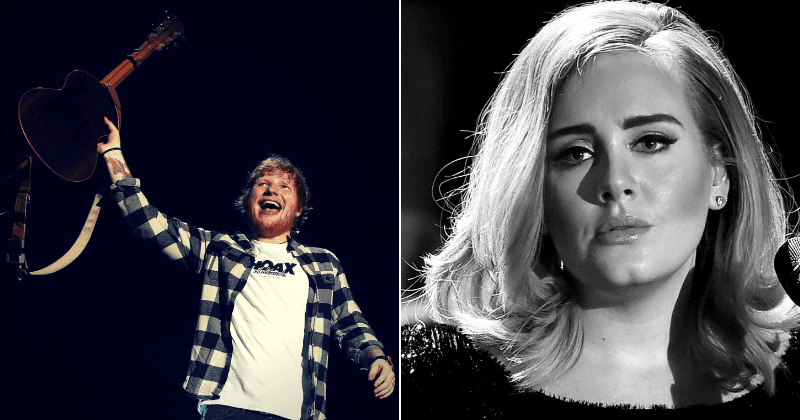 Ed Sheeran set to overtake Adele to become Britain's most successful singer
