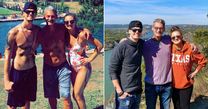 Tyler Baltierra shares heartwarming photo to announce that his father and sister are finally sober