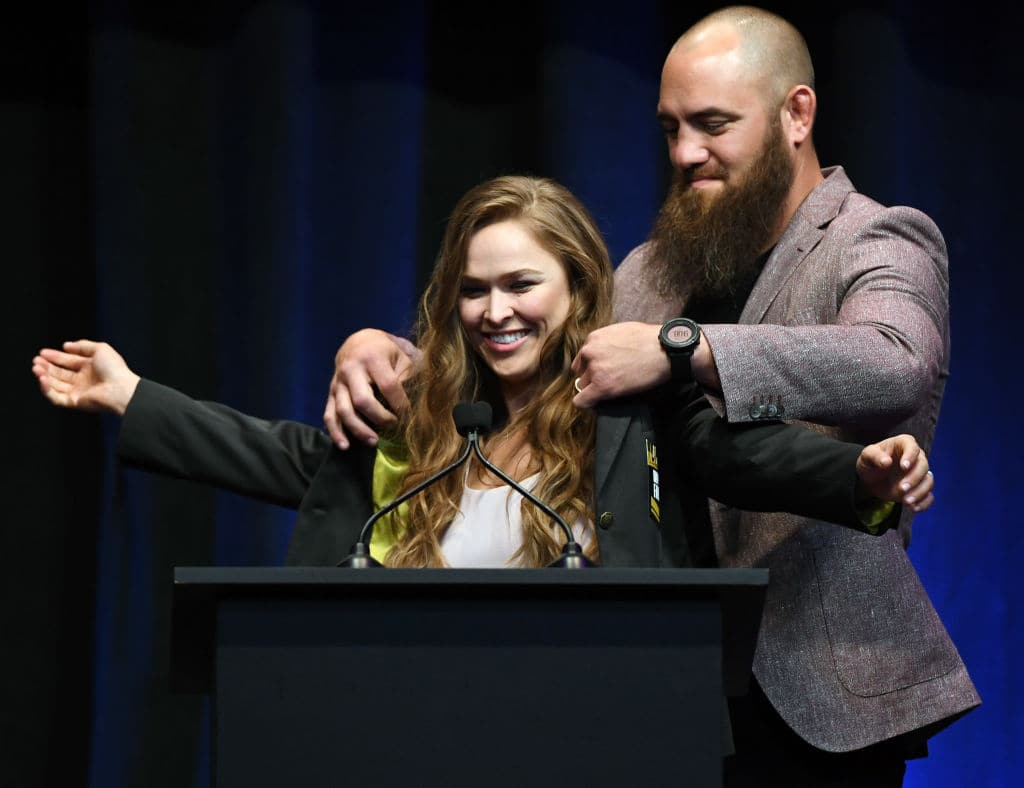 Ronda Rousey reportedly wants to start a family with former UFC fighter Travis Browne (Source: Ethan Miller/Getty Images)