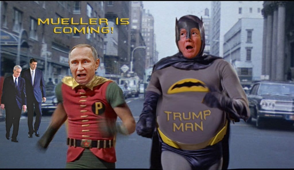 Image result for image of robert mueller as superhero