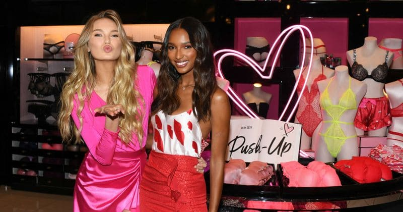 Victoria s Secret angels Romee Strijd and Jasmine Tookes dish about the perfect  gifts to give this Valentine s Day 3019fb68d75