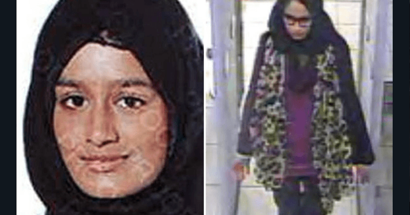 Pregnant 19 Year Old Shamima Begum Who Fled Britain To Join Isis