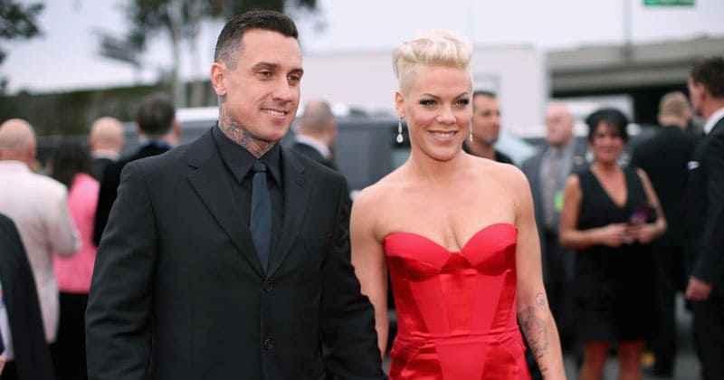 Pink reveals she got 13 stitches after slashing husband Carey Hart's car tires after a fight