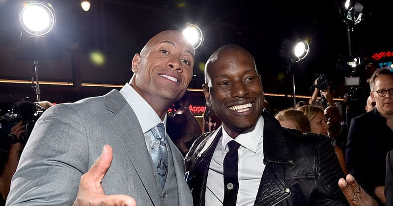 """He's a clown!"": Tyrese Gibson vows to quit 'Fast and Furious' if the Rock returns"