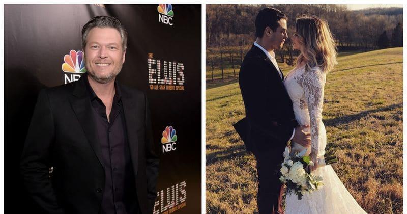 Blake Shelton And Miranda Lambert Wedding.Blake Shelton Reveals He Had No Inkling Ex Wife Miranda Lambert Was