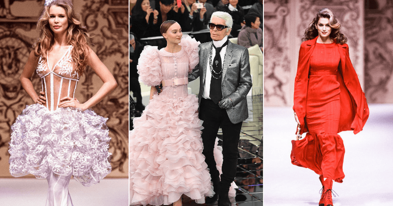 Karl Lagerfeld's 10 most iconic designs through the years