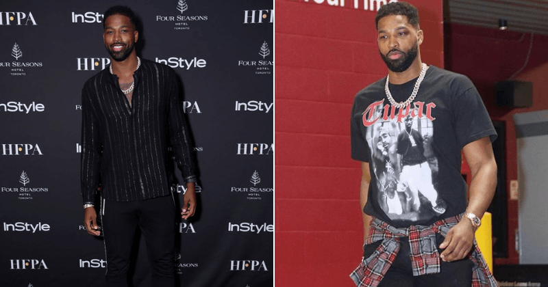 """Tristan Thompson hit with more """"cheating"""" rumors after he is spotted flirting with party girls"""