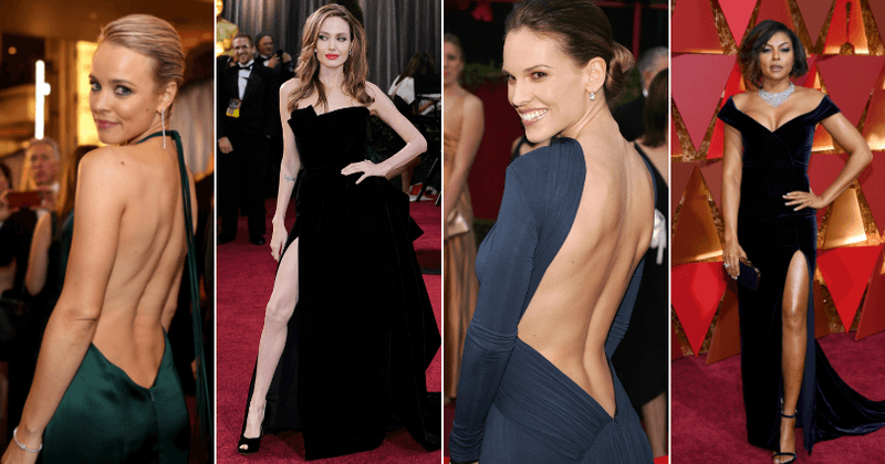 Oscars 2019: 10 sexiest dresses of all time, from Angelina