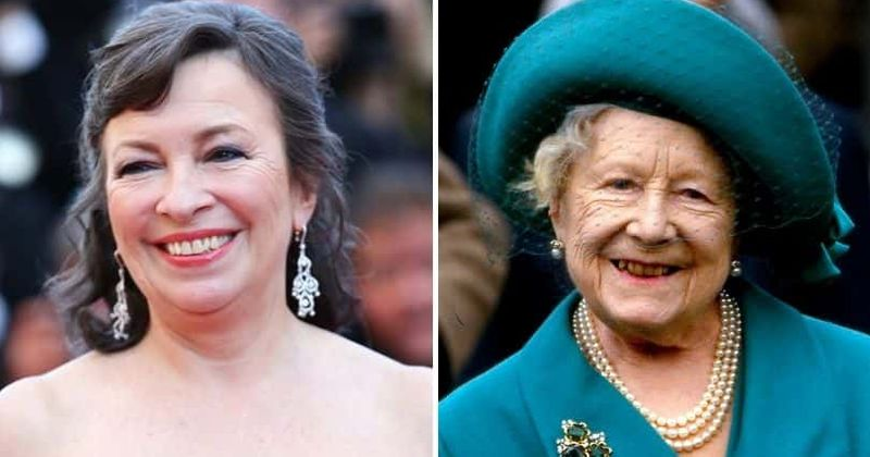 'The Crown' Season 3: Marion Bailey says a 'glorious bra' stuffed with lentils and birdseed helped her get into Queen Mother's shape