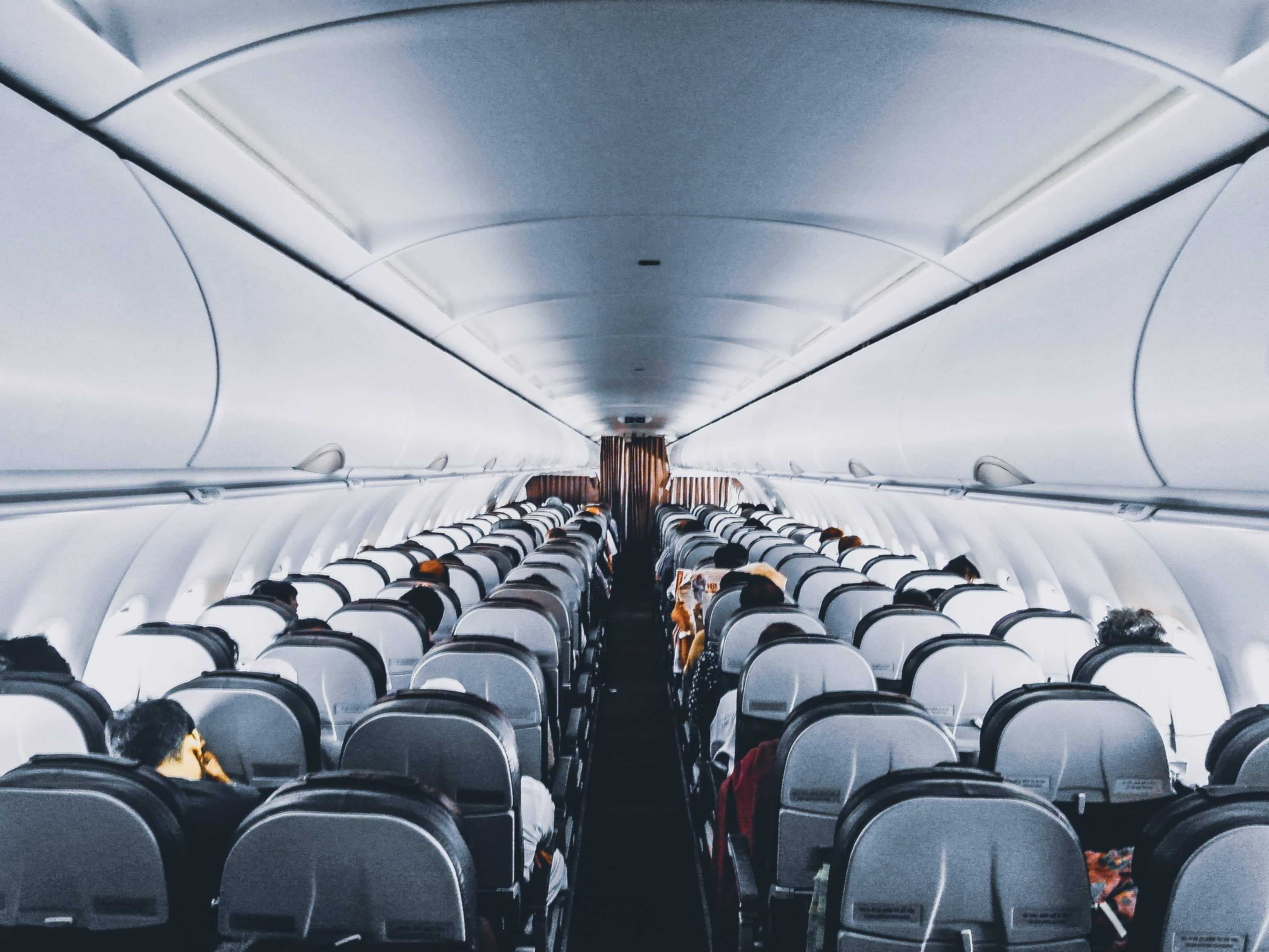 A flight attendant told the obese man that he may need to purchase another seat but there weren't any open seats on the flight (Pexels)