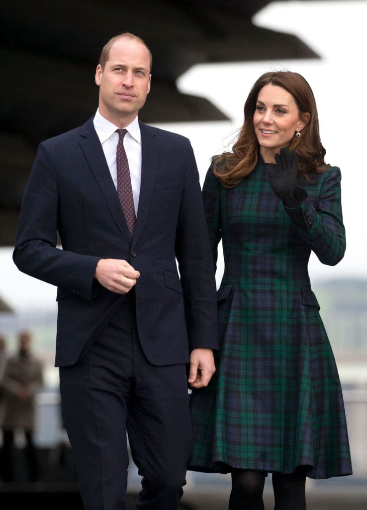 Prince William, Duke of Cambridge and Catherine, Duchess of Cambridge (Getty Images)