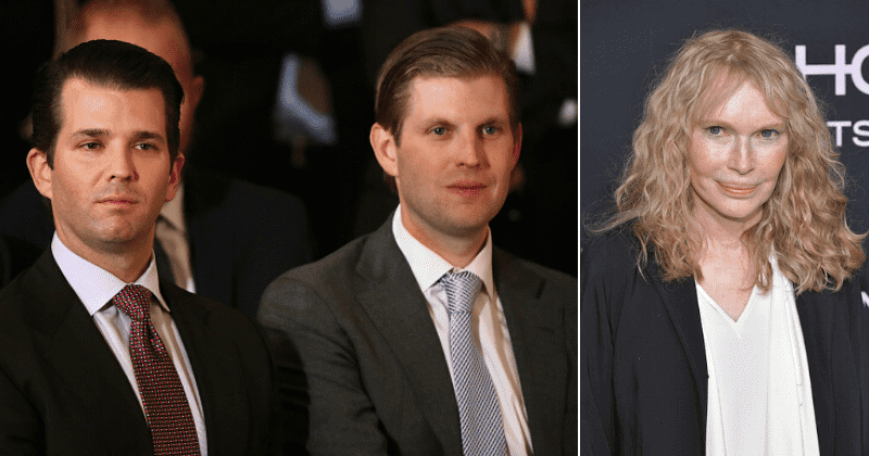 Mia Farrow digs up photo of Don Jr and Eric posing with dead leopard, asks Trump to 'tell your sons animal cruelty is now a crime'