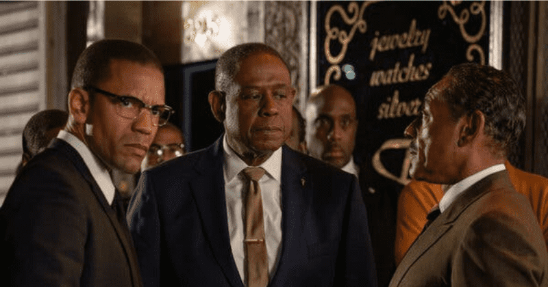 EXCLUSIVE | 'Godfather of Harlem': Malcolm X's relatives were unnerved by a pitch perfect Nigel Thatch's portrayal of the civil rights leader