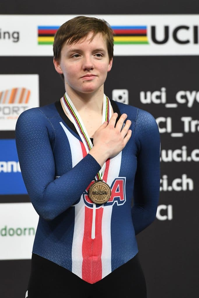 Kelly Catlin's roommate found her lifeless on Friday in her Stanford University dorm room in California (Getty Images)