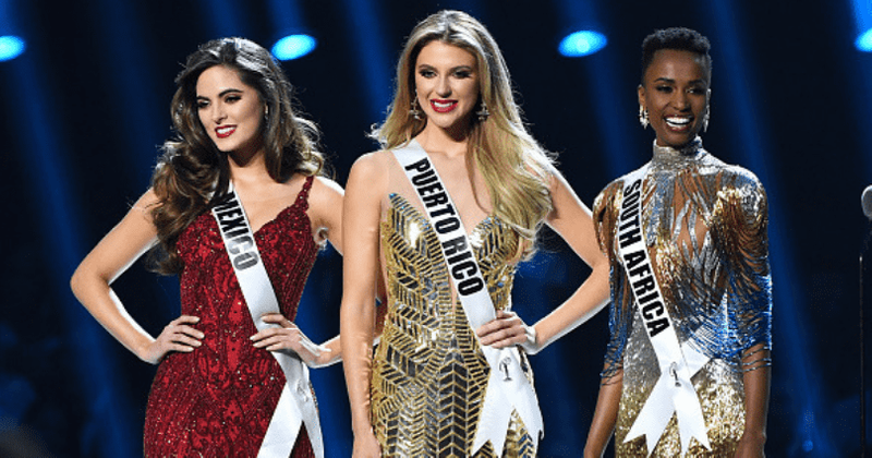 Image result for mexico and puerto rico miss universe 2019