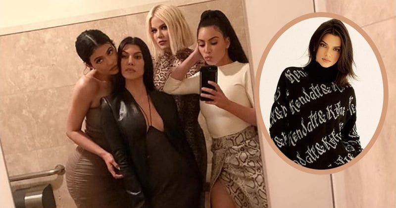 46ae5f2c29 Where's Kendall Jenner? Fans curious after Kourtney shares a picture of  Kardashian girls hanging out in a loo