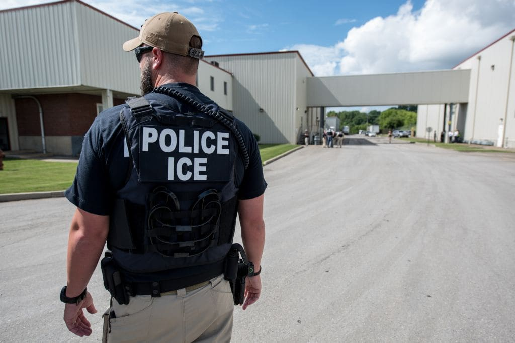 The records show more than 9,000 ICE agents have access to a vast automated license plate reader database run by a company called Vigilant Solutions under a $6.1 million contract that the public first learned of last year (Getty Images)