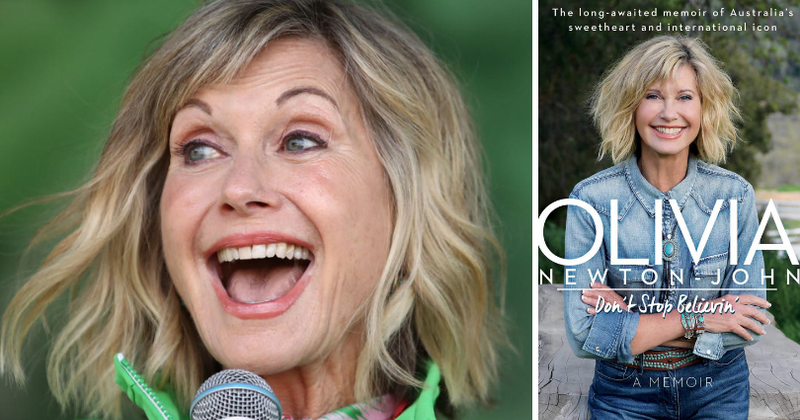 Olivia Newton-John reveals in memoir that she dated a 'Hollywood bad