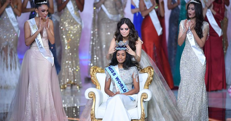 Image result for miss jamaica wins miss world 2019""