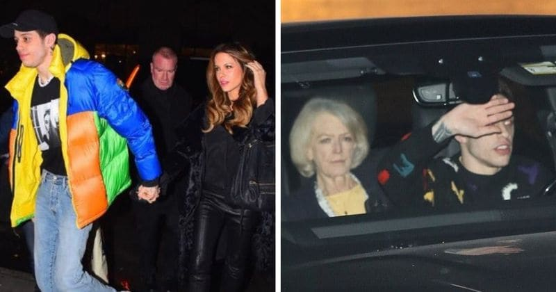 Kate Beckinsale introduces Pete Davidson to her mom over a family dinner on the 40th anniversary of her father's death
