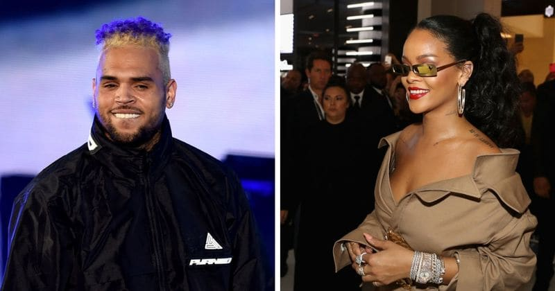 """Chris Brown """"turned on"""" by Rihanna's sexy new Fenty pictures, still harbors wish to marry her"""