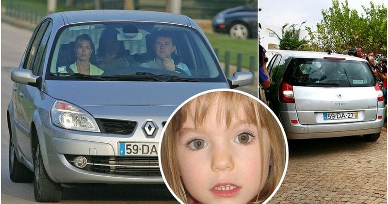 Madeleine McCann's DNA found in parents' car wasn't analyzed