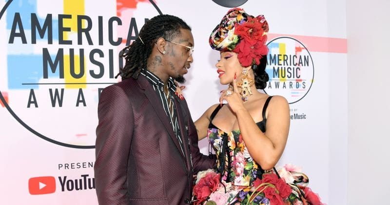 Offset comes out in support of Cardi B after her old video sparks widespread outrage