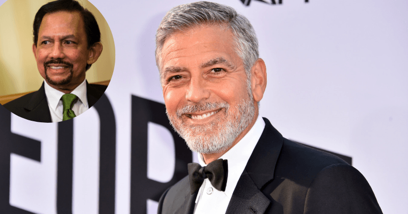 George Clooney calls for boycott of Brunei hotels because of