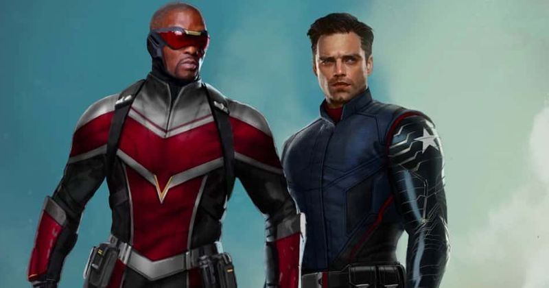 The Falcon and the Winter Soldier': New HD poster sees Sam ...