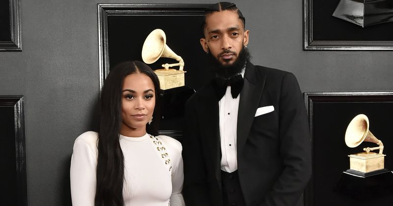 Rapper Nipsey Hussle's relationship with Lauren London was a