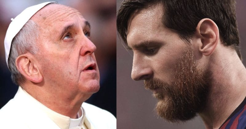 cee1ee1a7 Pope declares Lionel Messi  is not god