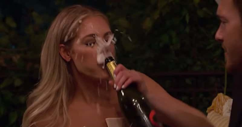 Image result for bachelor champagne gate picture