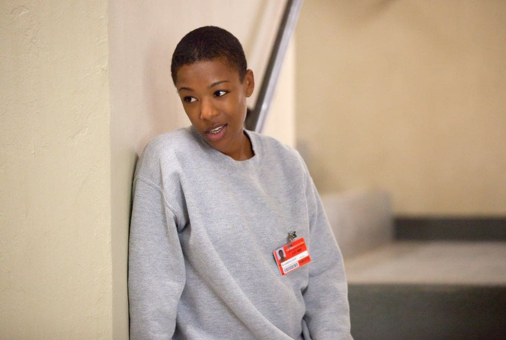 Samira Wiley as Poussey Washington in 'Orange is the New Black' (Netflix)