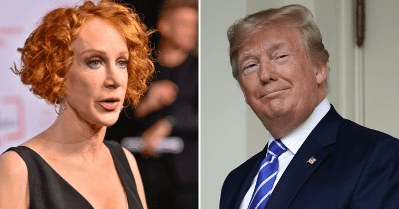 Kathy Griffin was 'straight-up begging' for work after Trump beheading photo stunt left her 'unemployable'