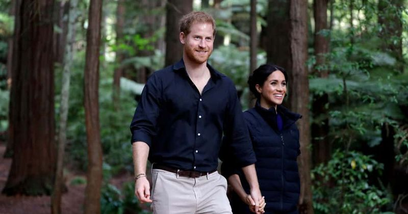After Queen announces Harry and Meghan will not use HRH titles, they sign off as 'Royal Highnesses' on website