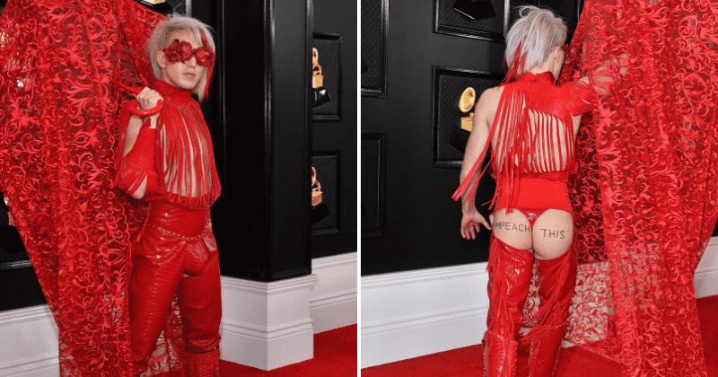 Busana Nyleneh di Grammy Awards 2020