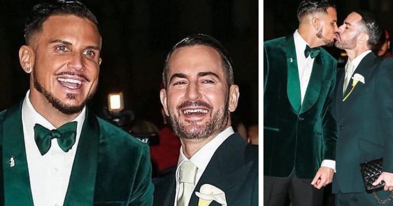 5dc155a70d Marc Jacobs marries longtime boyfriend Char Defrancesco, celebrates with  star-studded reception