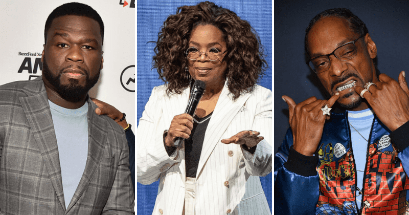 Snoop Dogg and 50 Cent Mock Oprah Winfrey After Fall on Stage During Her 2020 Vision Tour