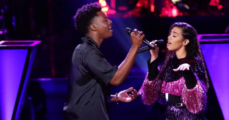 The Voice' Season 18: Mandi with Cammwess perfoming...
