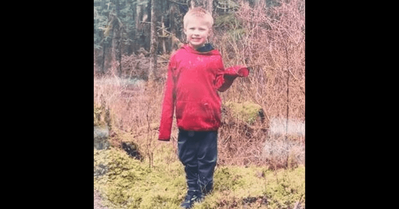 Alaska 5-year-old found dead 3 days after mom left him alone to find help as they got lost on hiking trail