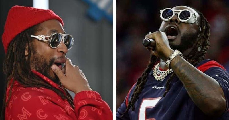 Lil Jon wins hearts by playing new track in online battle with T-Pain but duo draws flak for R Kelly songs