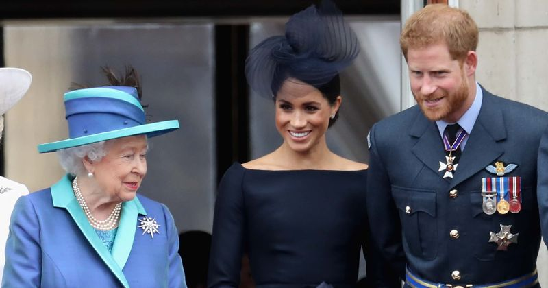 Harry and Meghan were moved by the 'warmth, reassurance and comfort' of Queen's coronavirus speech
