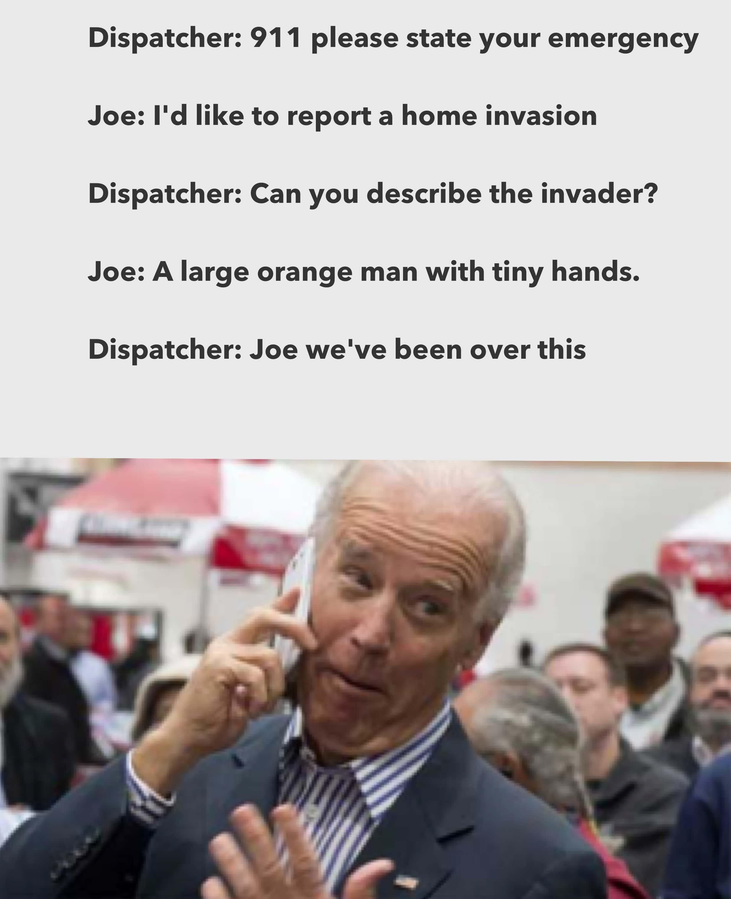 If Joe Biden takes on Donald Trump in 2020, it's obvious ...