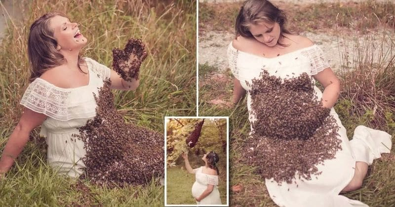 Remember the mother whose pregnant photoshoot with bees went viral? She just revealed some tragic news