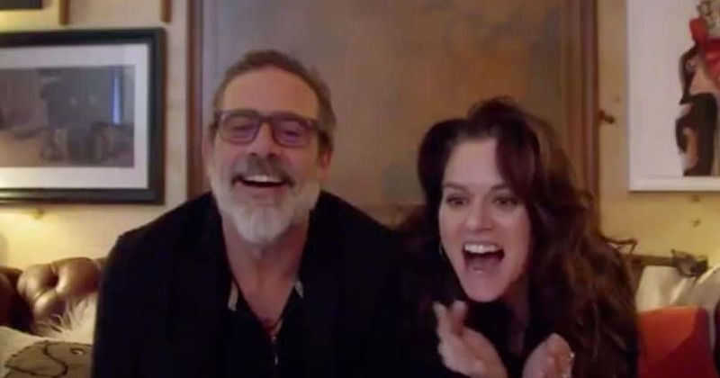 'Friday Night In with the Morgans': Jeffrey Dean Morgan and Hilarie Burton explain how not to kill your spouse!