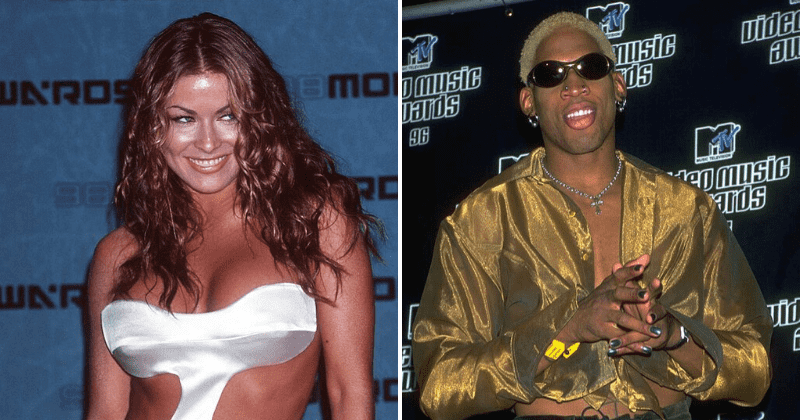 Carmen Electra Says She Had Sex With Dennis Rodman At Bulls Practice Facility Like Kids In A Candy Store Meaww